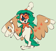 Decidueye by Pastel-Core