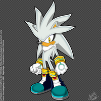 Silver the Hedgehog by Ferstyle-Fotek