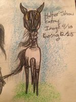 Halter Show Entry . . . by Taz123321