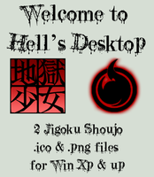 Jigoku Shoujo IconPack by mistressmariko