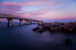 Cape Canaveral Jetty by TabithaS-Photography