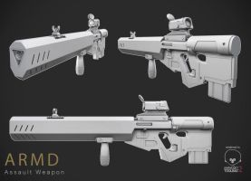 Assault weapon by kenetand2