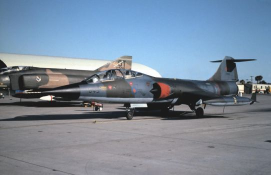 CF-104D Star Fighter by F16CrewChief