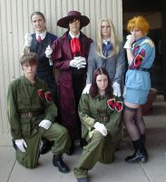 Hellsing Cosplay Group. by ForeverKnight