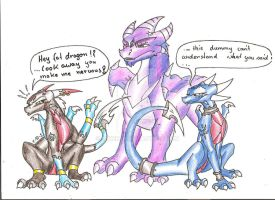 the fat dragon XD by Minerea
