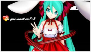 MMD Rabbit Miku [DOWNLOAD] by mmd-lover
