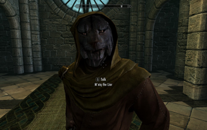 M'aiq the Liar as a Vampire by Mediziner