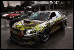 subaru impreza time attack by hugosilva