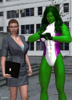 She-Hulk 10 by hotrod5