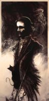 Edgar Allan Poe by AVallois