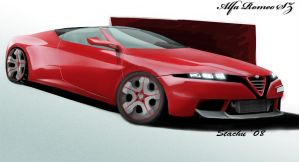 Alfa Romeo SZ concept by STH-pl