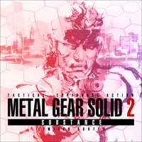 MGS2: Substance OST CD Cover 1 by jrossiter13