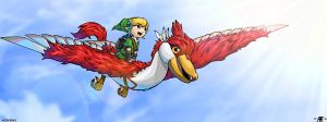 Wind Waker Skyward Sword by Lamberblamber