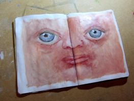 page for the Sketchbook Project by chris10belgium