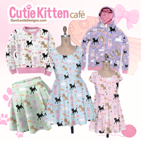 Cutie Kitten Cafe Clothes by ShyDaniLamb