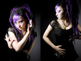 Hair style for HELL.cz II. by Khiria
