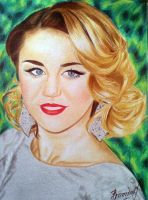 Miley Cyrus by Vira1991