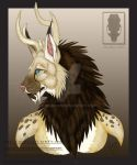 Rheego || Bust Commission Example by Seimei-roo