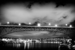 .aurora bridge 01. by elementalunacy