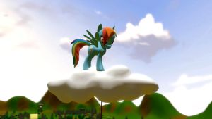 Rainbow Dash Cloud Problem by EDplus