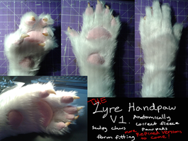 Handpaw V.1 by Lyre-Lyre