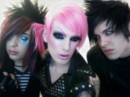 BOTDF and Jeffrey Star by XxSceneSkittlesxX