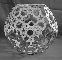 Ring Star Dodecahedron 2007 (paper) by albertpcarpenter
