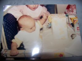 Me at my 1st birthday (1988) by jhwink
