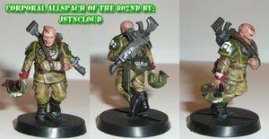 Corporal Allspach of The 802nd by jstncloud