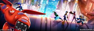 Big Hero 6 BestMovieWalls dual02 by BestMovieWalls