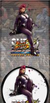 Super Street Fighter IV Arcade Edition Viper by kraytos