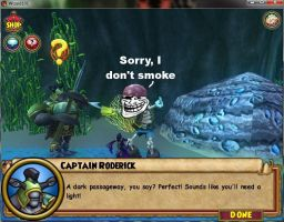 I Don't Smoke, Sorry... by Wizard101DevinsTale
