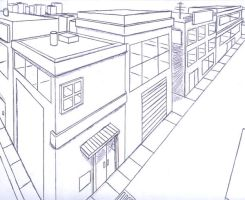 3D Perspective - City Streets by ClassicTeam