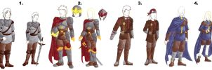 EoC Skyhold uniforms by Doofus-the-Cool