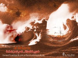 attack the fleet of freedom by mouaz