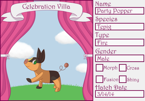 PKMNation: Party Popper by Viriizion