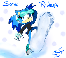 Starry in Riders by SonicStaryFan