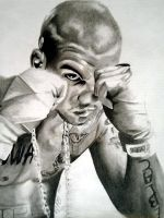 The Game Pencil Portrait by Cr1msonCloud