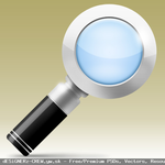 Create a Magnifying Glass Icon by SET07