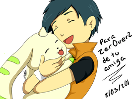 Henry y Terriermon by Zer0v2