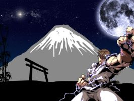 Ryu In Japan by Wolverine080976