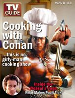 Cooking with Conan by heartskullkid