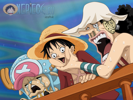 One piece 605 by ioshik