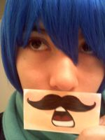 Kaitos Mustache of love DA ID by DarkAngelHinata