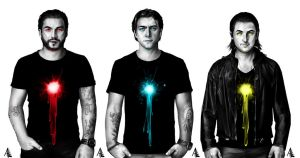 Swedish House Mafia by AbsolumTerror