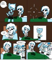ThE PRANK PART ONE PG.2 (Comic) by ZombieRay10