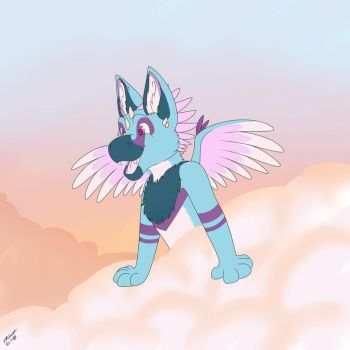 Artic up in the clouds  by Shagero