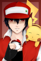 Pokemon Red by Nerrena