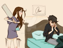 Sherlolly collab - Surprise Homecoming by lexieken