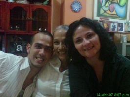 mom,maira and i by Humanis